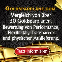 Goldsparpläne.com - über 30 Goldsparpläne im Vergleich